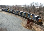 CSX C964 with 6 units!